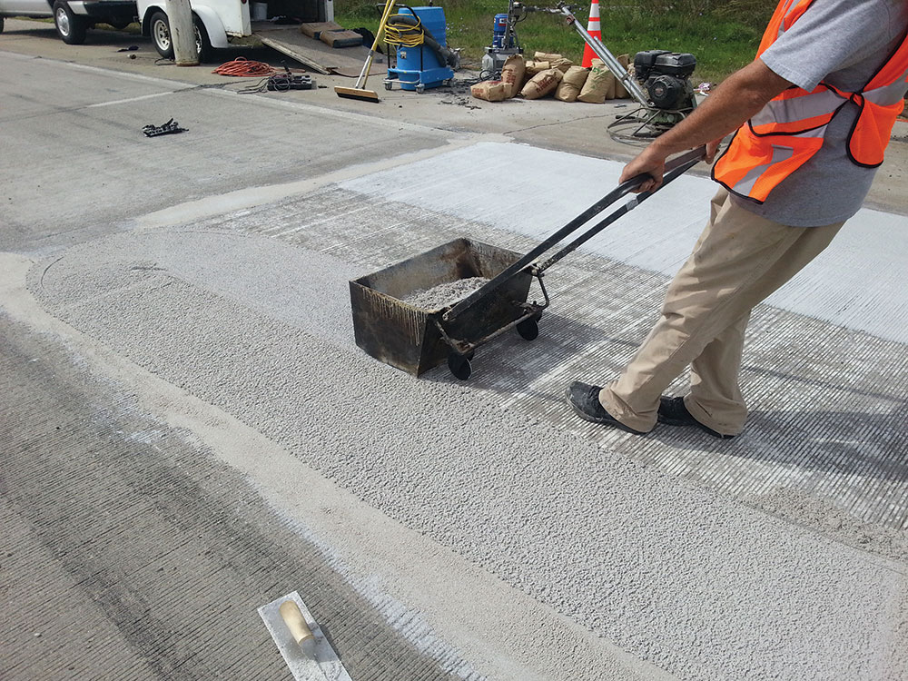 Road Repair process