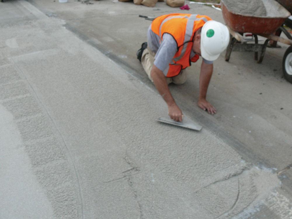 Performance roads repair process